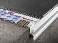 Profilo perimetrale in alluminio verniciato a polvere