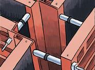 Guarnizione in gomma idroespansiva per distanziatori casseri