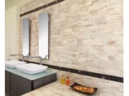 Porcelain stoneware wall tiles with stone effect ROCK STYLE by Panaria Ceramica