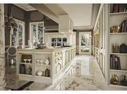 Cucina componibile in marmo con isola ROMANTICA DECOR - GOLD EDITION ...