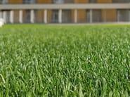 Sistema ibrido erba naturale e sintetica per ambito urbano