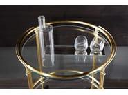 Carrello portavivande in alluminio RIKI by Gallotti&Radice