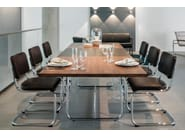 Table extensible rectangulaire S 1072 by Thonet