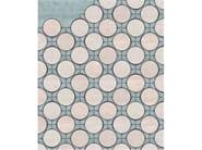 Handmade rectangular rug SACRE-COEUR by Tapis Rouge