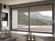 Finestra scorrevole con telaio nascosto SMARTIA M12500 PHOS by Alumil
