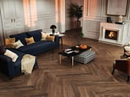 Porcelain stoneware flooring with wood effect SOLID WOOD by RECER