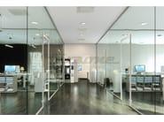 SPAZIO | Divisori open-space  Pareti divisorie in vetro e alluminio