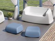 Polyethylene garden sofa SUGAR   Garden sofa by Lyxo Design