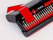 Set inserti e cacciavite meccanica fine SET INSERTI E CACCIAVITE PER MECCANICA FINE - WURTH 06134895