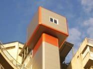 Pannello metallico coibentato per facciata TERMOPARETI® FLAT by ELCOM SYSTEM