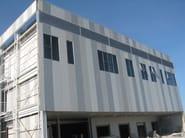 Pannello metallico coibentato per facciata TERMOPARETI® WPM/C-FN by ELCOM SYSTEM