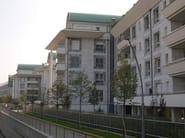 Sistema  a scomparsa per facciata ventilata TERRA by DALLERA TECNOLOGIE