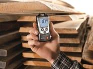 Strumento per la misura di umidità nei materiali
