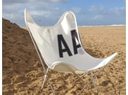 Folding technical fabric garden armchair AA© VENT D'OUEST© by AIRBORNE