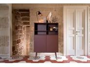 Credenza laccata in legno con ante a battente TILES | Credenza by Barba design