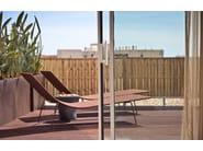 Stackable polypropylene sun lounger TRENZA TU0704 by Andreu World