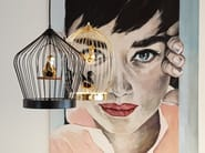 Lampada a sospensione a LED TWEE T | Lampada a sospensione by Casamania & Horm