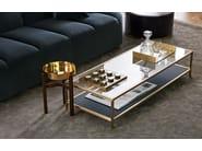 Gioco da tavolo in marmo e ottone TIP TAP TOE by Gallotti&Radice
