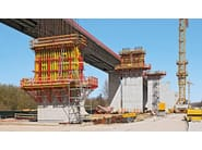 Formwork system for load-bearing wall VARIO GT 24 by PERI