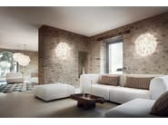 Opalflex® wall lamp / ceiling lamp VELI FOLIAGE | Wall lamp by Slamp