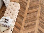 Pavimento rivestimento in gres porcellanato effetto legno vintage