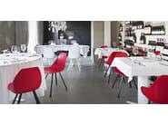 Stuhl aus polypropylen spider by alma design design mario mazzer