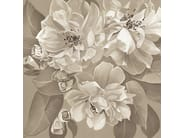 Ecological PVC free wallpaper with floral pattern OPHELIA CASHMERE by BLOSS
