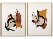 Paper Painting Acrópolis I & II by NOVOCUADRO ART COMPANY