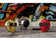 Diffusore acustico JARRE - AEROSKULL NANO Red by Archiproducts.com
