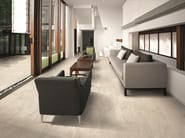 Porcelain stoneware wall/floor tiles with stone effect ANTHOLOGY STONE IVORY by EmilCeramica