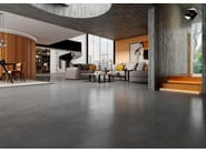 Porcelain stoneware wall/floor tiles with concrete effect AREA | Wall/floor tiles by RECER