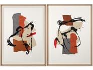Paper Painting Argos I & II by NOVOCUADRO ART COMPANY