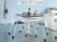 Höhenverstellbarer Büro-Schreibtisch ATLAS OFFICE LANDSCAPE | Höhenverstellbarer Büro-Schreibtisch by Herman Miller