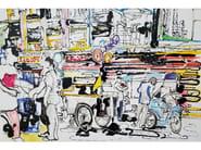 Canvas Painting Bangkok by NOVOCUADRO ART COMPANY