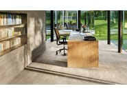 Porcelain stoneware wall/floor tiles with stone effect BRIXEN STONE SAND by EmilCeramica