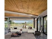 Corner fabric sofa BROWN SUGAR | Corner sofa by Arketipo