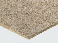 Pannello termoacustico in lana di legno mineralizzata