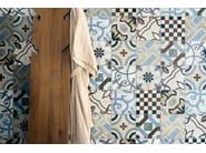 Wand und bodenbelag aus feinsteinzeug cementine kollektion