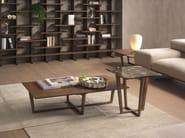 CITY | Tavolino in legno impiallacciato