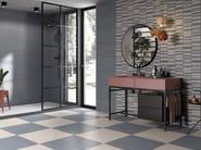 Porcelain stoneware wall tiles / flooring DENIM by Ceramica Rondine
