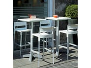 High stackable stool DIVO H75 by SCAB DESIGN