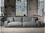 Sectional 3 seater fabric sofa DOYLE | 3 seater sofa by Domingo Salotti