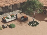 Porcelain stoneware outdoor floor tiles with terracotta effect EXTERNA COTTO OCRA by EmilCeramica
