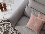 Relaxing 3 seater fabric sofa WALLET   Fabric sofa by AERRE ITALIA