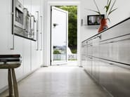 Custom stainless steel kitchen with island FORM 2 - STAINLESS ...