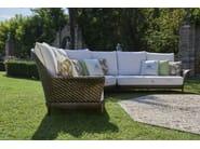 5 seater corner sectional garden sofa ARALIA   Garden sofa by Samuele Mazza Outdoor