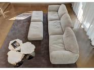 Canapé modulable en tissu GRANDE SOFFICE by edra
