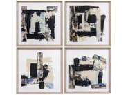 Paper Painting Housen I, II, III & IV by NOVOCUADRO ART COMPANY