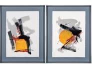 Paper Painting Ibiza I & II by NOVOCUADRO ART COMPANY