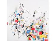 Canvas Painting Iconic by NOVOCUADRO ART COMPANY